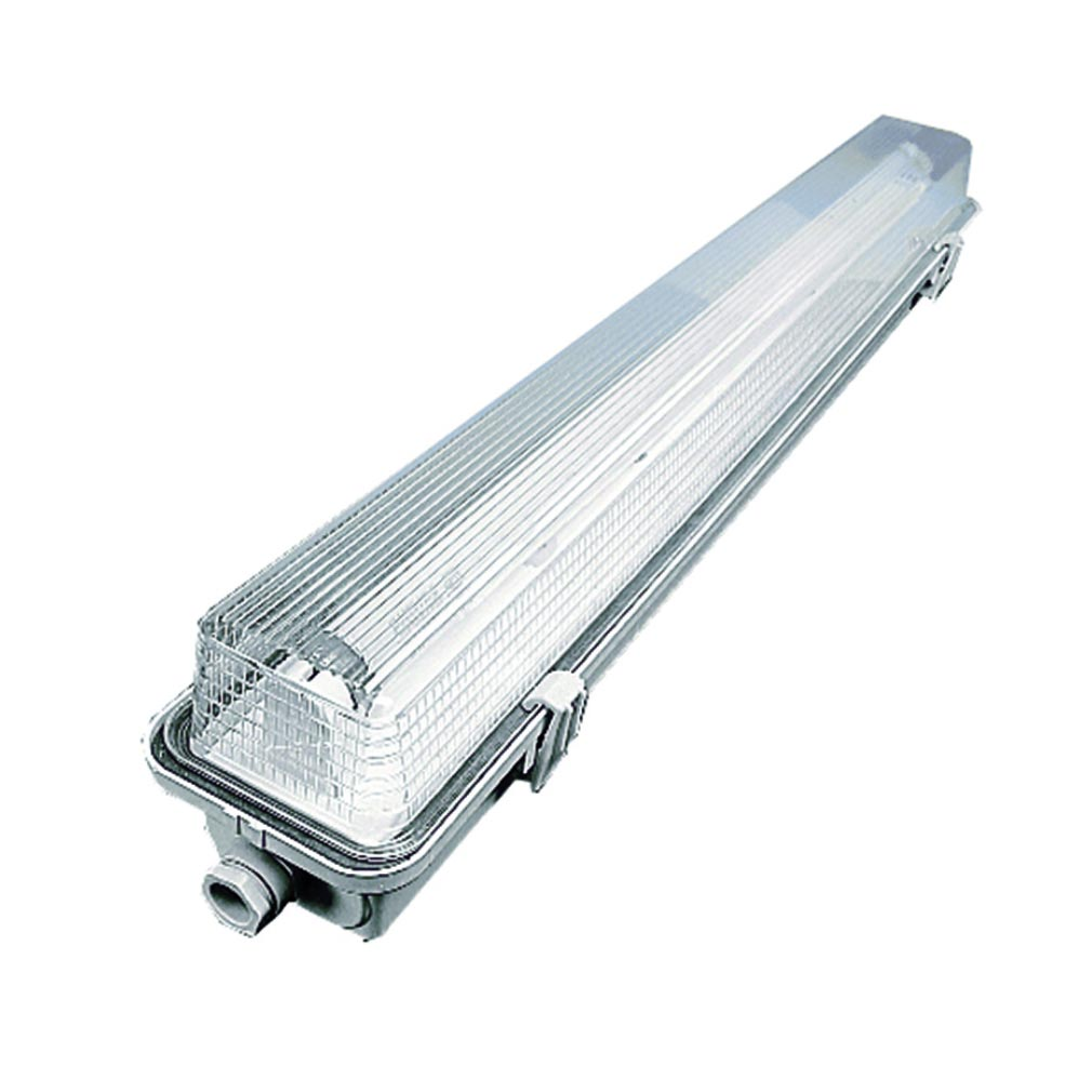 Luminox - LUM21051 - LUMINOX 21051 - Luminaire SC 48 Vcc - Fluorescent 18 W - 800 lm - Etanche IP55/IK07