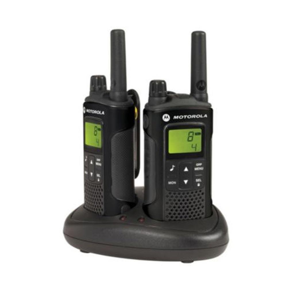 Motorola - MO4XT180 - MOTOROLA XAP0086BDGAA - 2 TALKIES+CHARG.DBLE+BATTERIES+PINCES+OREILLETTES