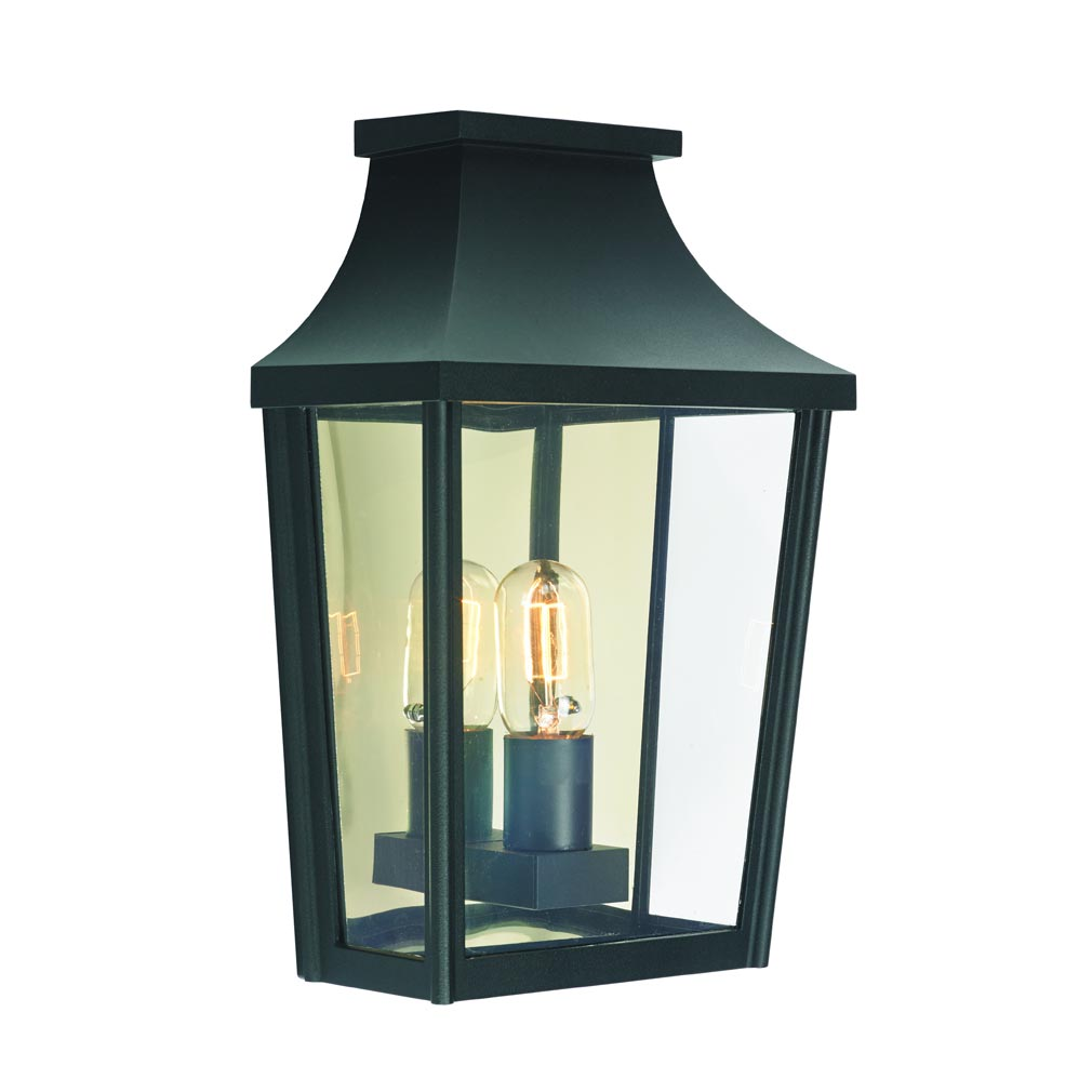 Norlys - NOS497SV - LONDON NOIR 57W HALOGENE/E27 IP65 APPLIQUE