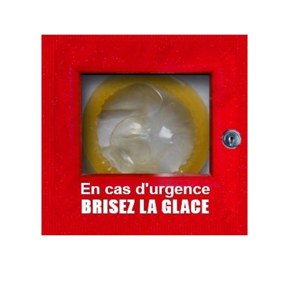 Nugelec - NUG30032 - NUGELEC 30032 -  Sachet de 5 Vitres 'BRISEZ LA GLACE' pour S3000