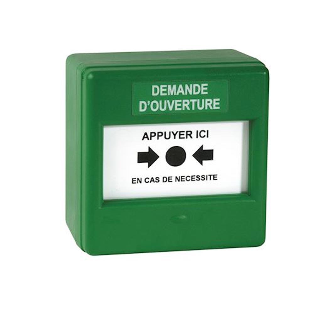 Nugelec - NUG30344 - NUGELEC 30344 - Coffret Membrane simple action - couleur verte - DEMANDE OUVERTURE