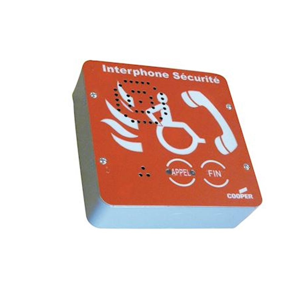 Nugelec - NUG36100 - NUGELEC 36100 -  INTERPHONE EAS rouge