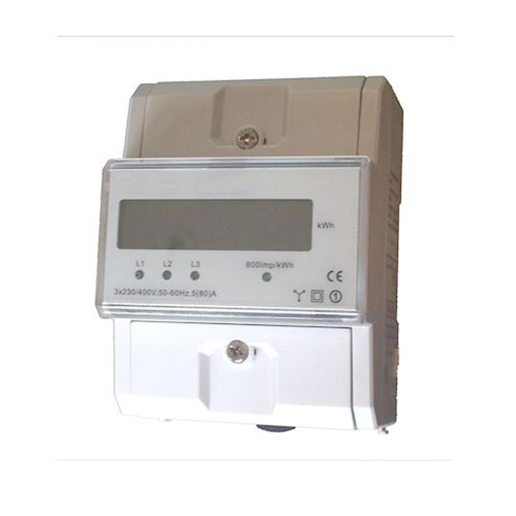 Polier in - POIMTR80L - POLIER MTR80L -  Compteur Modulaire tétra 80 A simple tarif CE