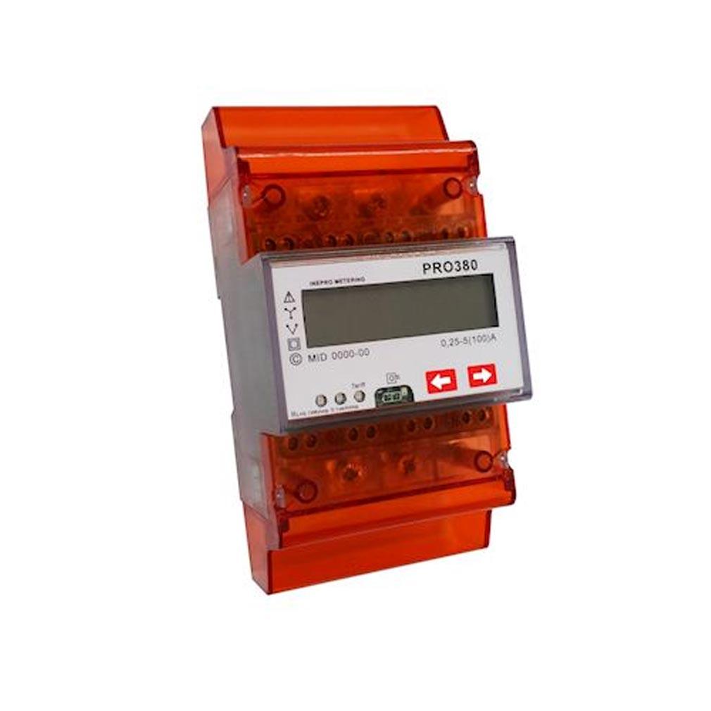 Polier in - POIPRO380SDC - POLIER PRO380SDC -  Compteur Modulaire triphasé/tétra 100 A DT MID