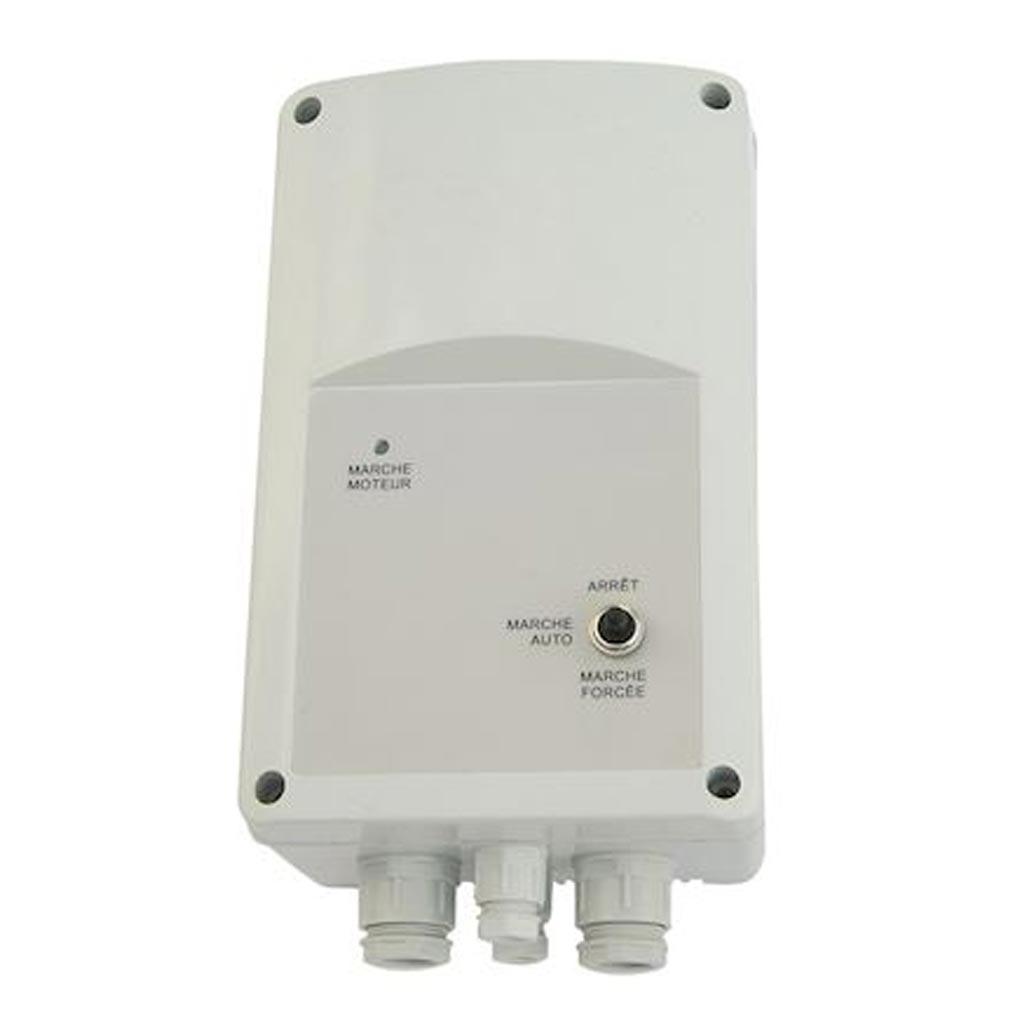 S&P - UNE700196 - UNELVENT 700196 - VAPZ3A - Variateur de tension monophasé en fonction du taux de CO2, 3 A