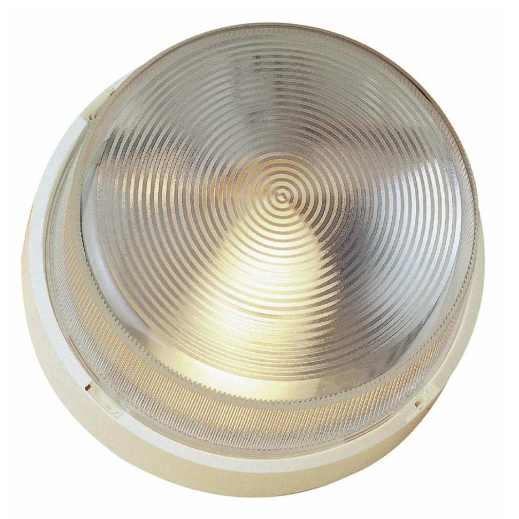 Sarlam - SLM400270 - SARLAM 400270 - Hublot MAP 400 blanc diffuseur verre E27 / 100W