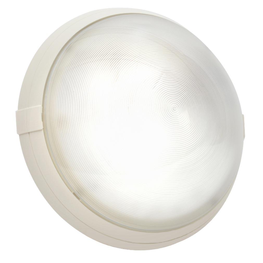 Sarlam - SLM700270 - SARLAM 700270 - HUBLOT BLANC ANTIVANDALE A DIFFUSEUR POLYCARBONATE TRANSPARENT SUPER 400 - Sans Lampe