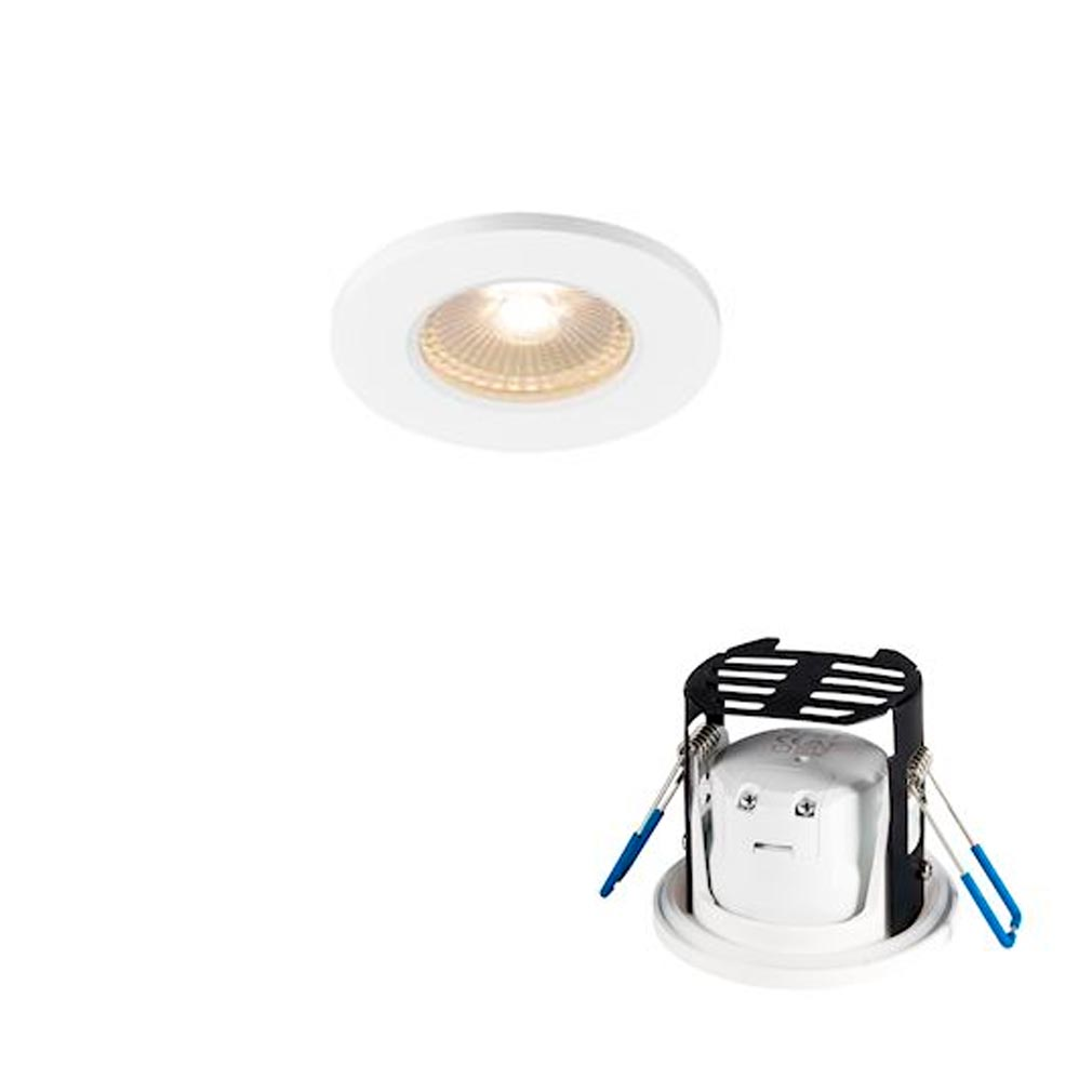 Slv - DC51001016 - SLV 1001016 -   KAMUELA ECO, encastré, blanc, LED 6,5W 3000K, 38DEG, variable, IP65