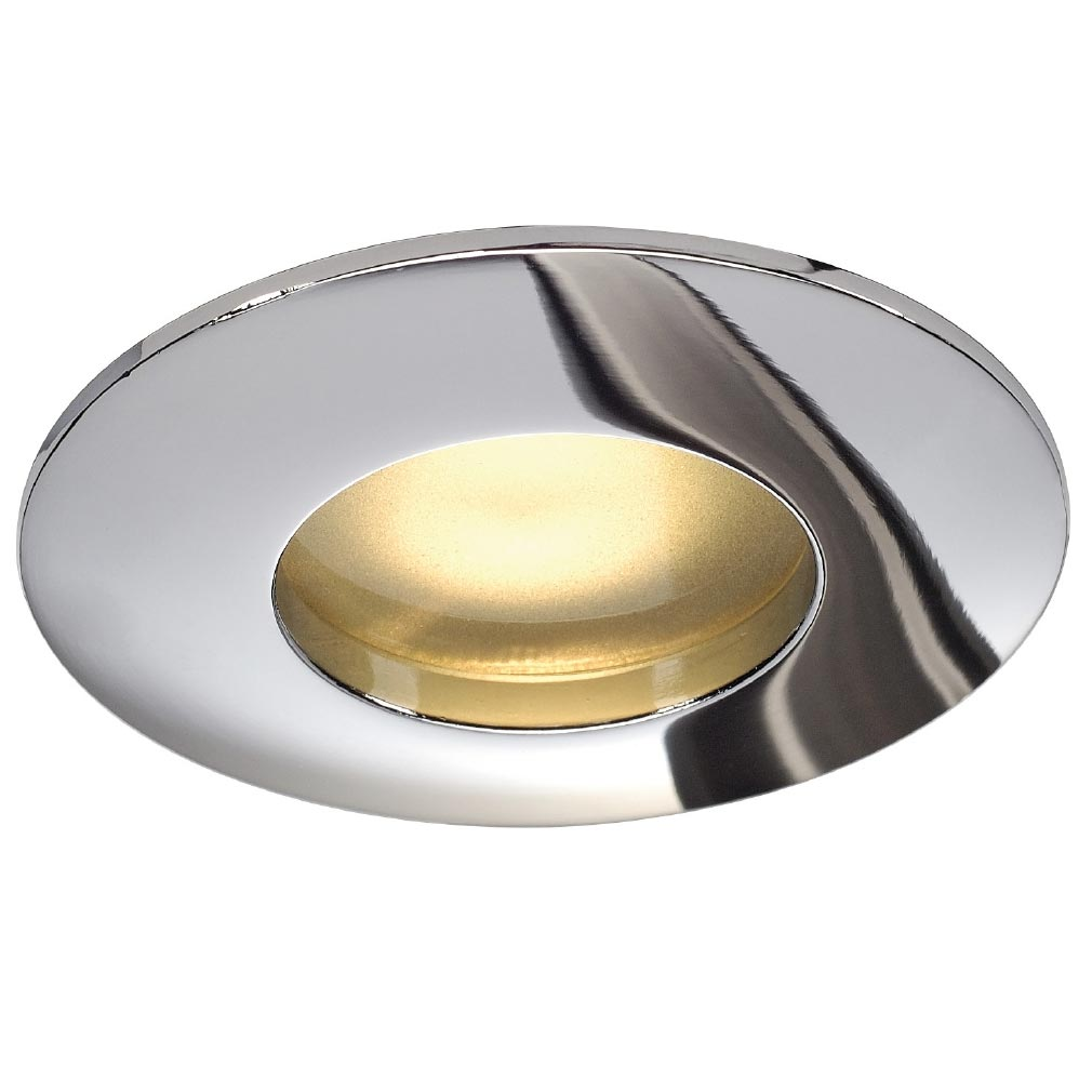 Slv - DC5111018 - SLV 111018 - OUT 65 ENCASTRE, ROND, CHROME, MR16, MAX. 35W