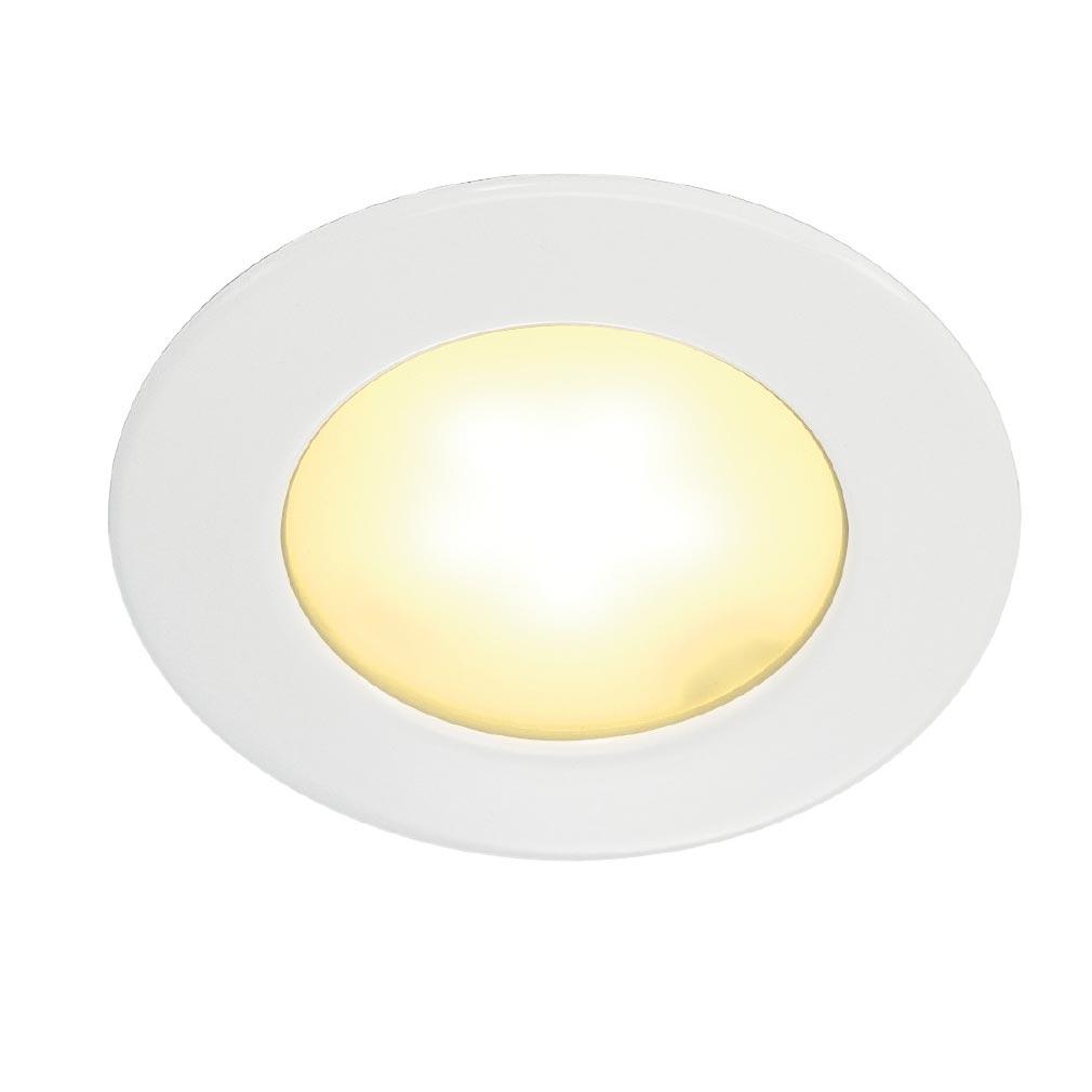 Slv - DC5112221 - SLV 112221 - DL 126 LED, ENCASTRE ROND, BLANC, 2.8W LED 3000K, 12V