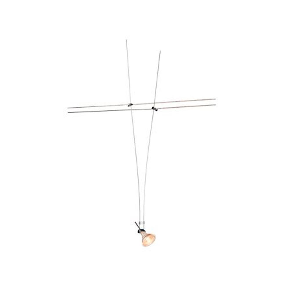 Slv - DC5139072 - SLV 139072 -   ASMARA, spot pour câble tendu, MR16, 60cm, chrome
