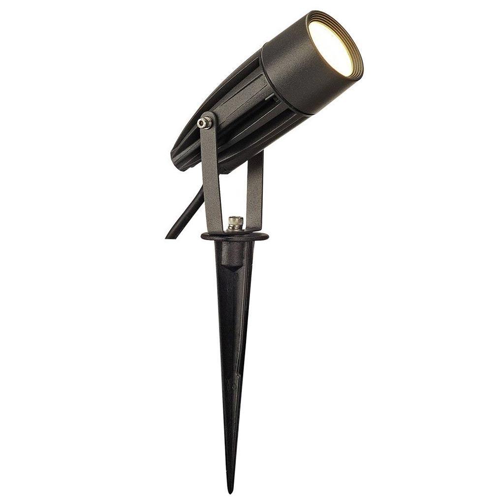 Slv - DC5227505 - SLV 227505 - SYNA, spot à piquer, anthracite, SMD LED, 8,6W, IP55