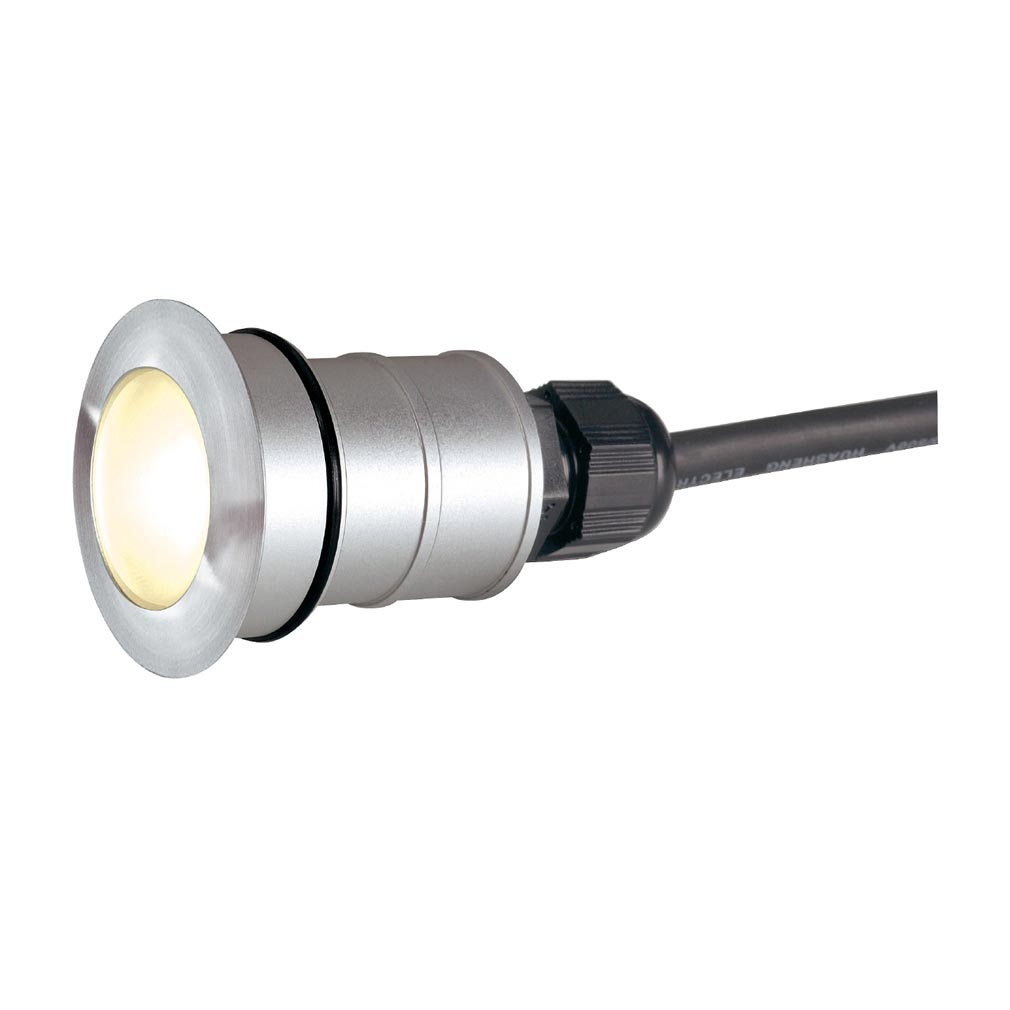 Slv - DC5228332 - SLV 228332 -  POWER TRAIL-LITE ROND, INOX 316, 1W LED 3000K, IP67