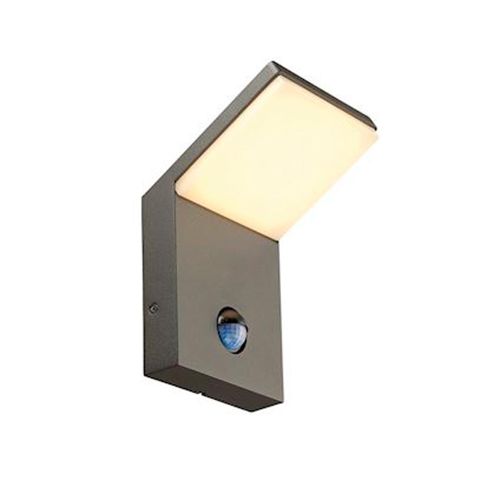 Slv - DC5232915 - SLV 232915 -  ORDI, APPLIQUE LED, ANTHRACITE, 3000K, 9W, AVEC DETECTEUR DE