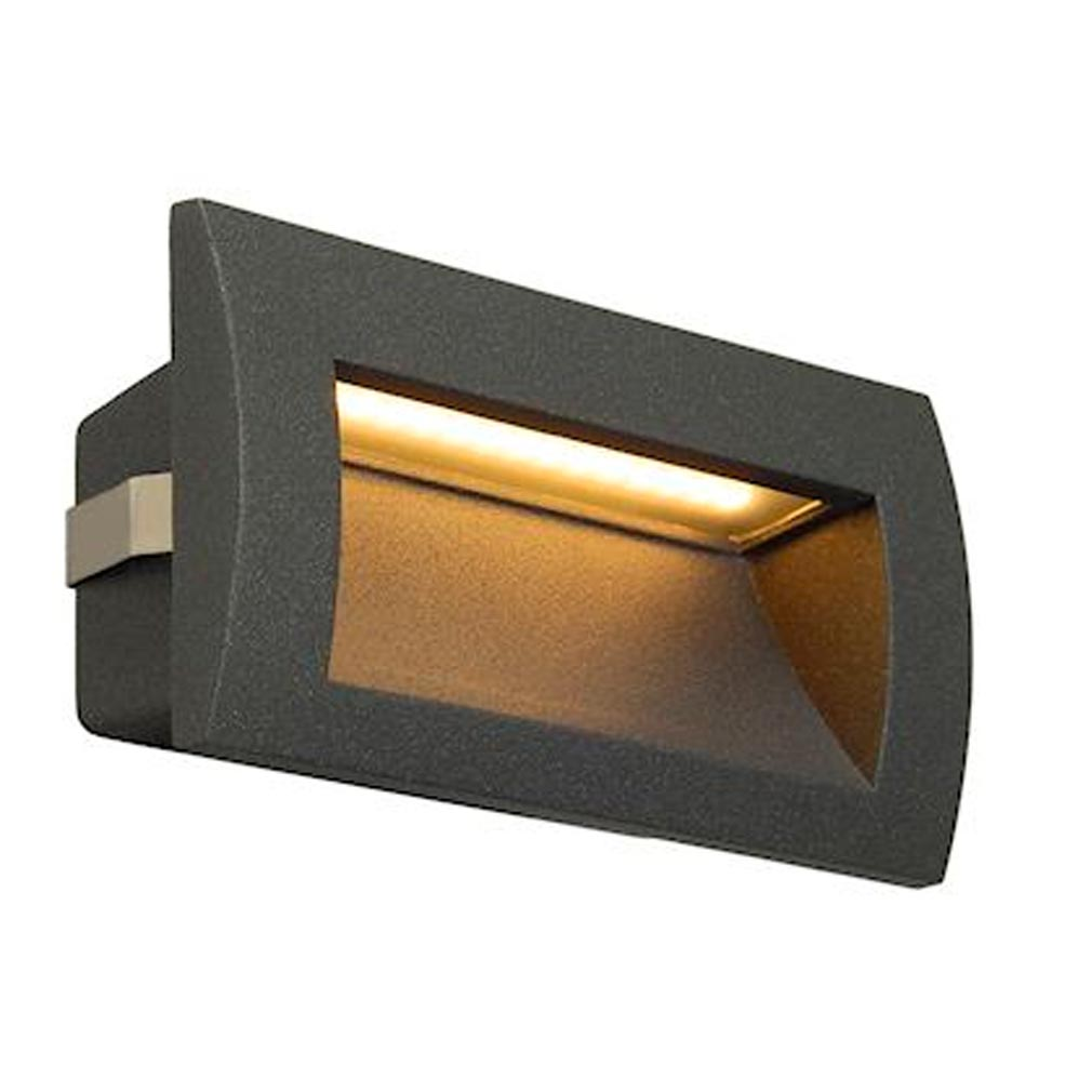 Slv - DC5233625 - SLV 233625 -  DOWNUNDER OUT LED M, ENCASTRE MURAL ANTHRACITE, LED 0.96W 30