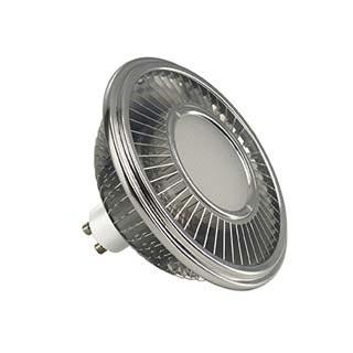 Slv - DC5551652 - LED ES111, GRIS ARGENT, 17,5W, 140DEG, 2700K, VARIABLE