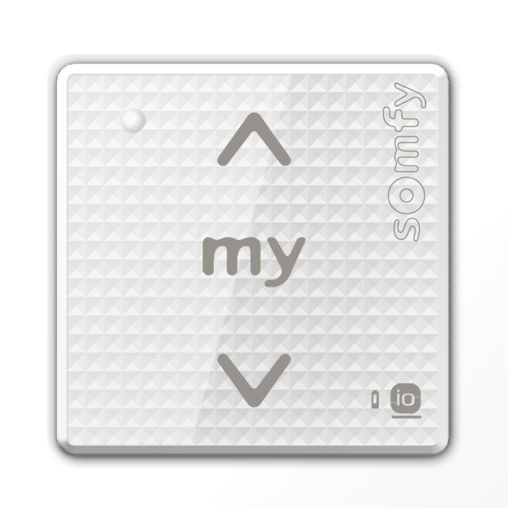 Somfy - SYF1800324 - COMMANDE SMOOVE SENSITIF io blanc laqué