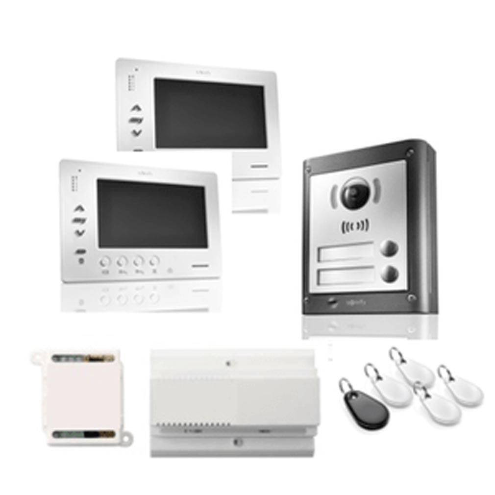 Somfy - SYF1841228 - Kit VsystemPRO PREMIUM IO 2 installations