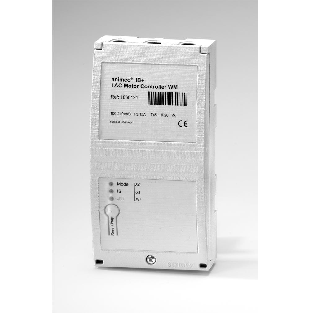 Somfy - SYF1860121 - MOTEUR CONTROLLER 1 AC IB/IB+ WM