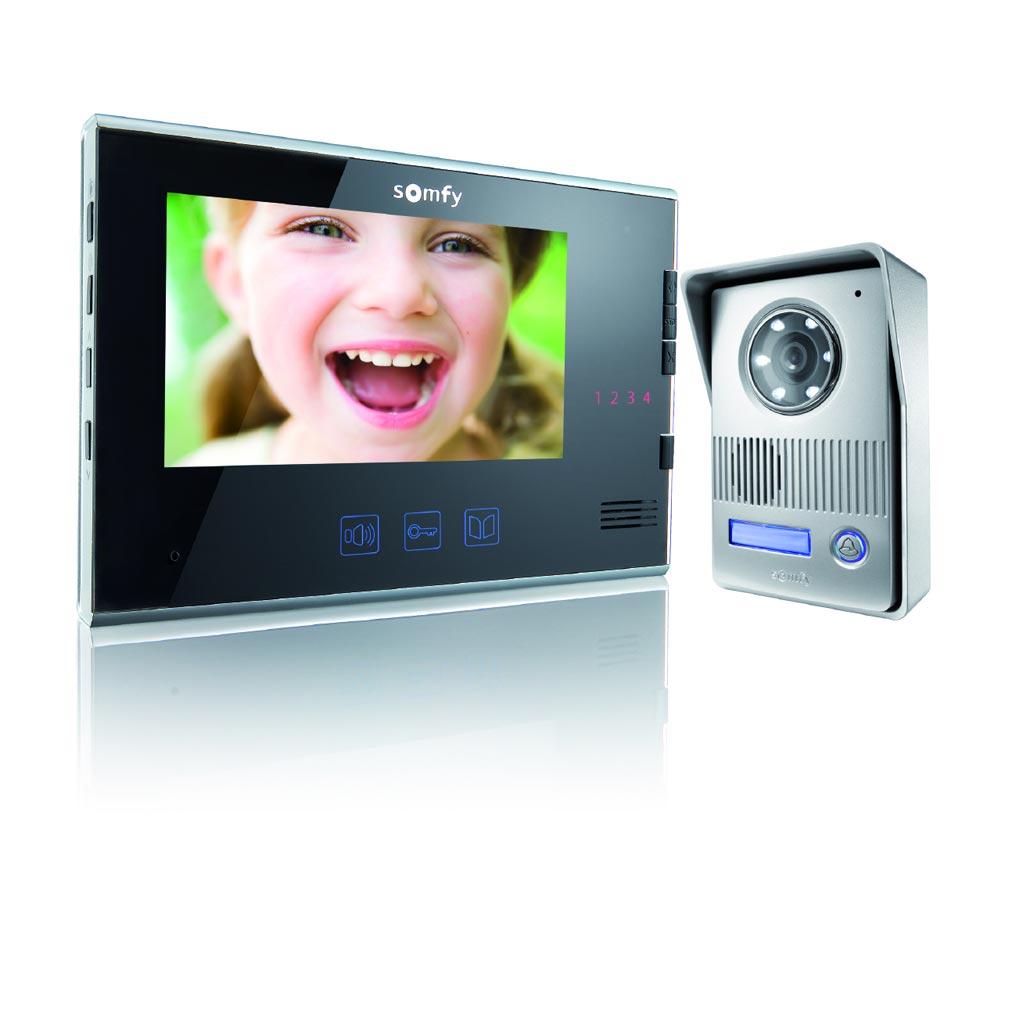 Somfy - SYF2401295 - VISIOPHONE V400 NOIR 1.2