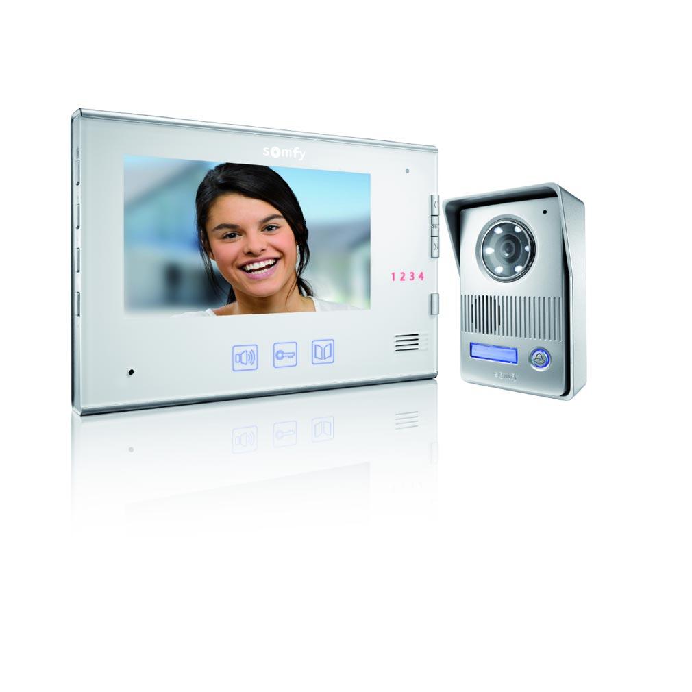 Somfy - SYF2401296 - VISIOPHONE V400 BLANC 1.2