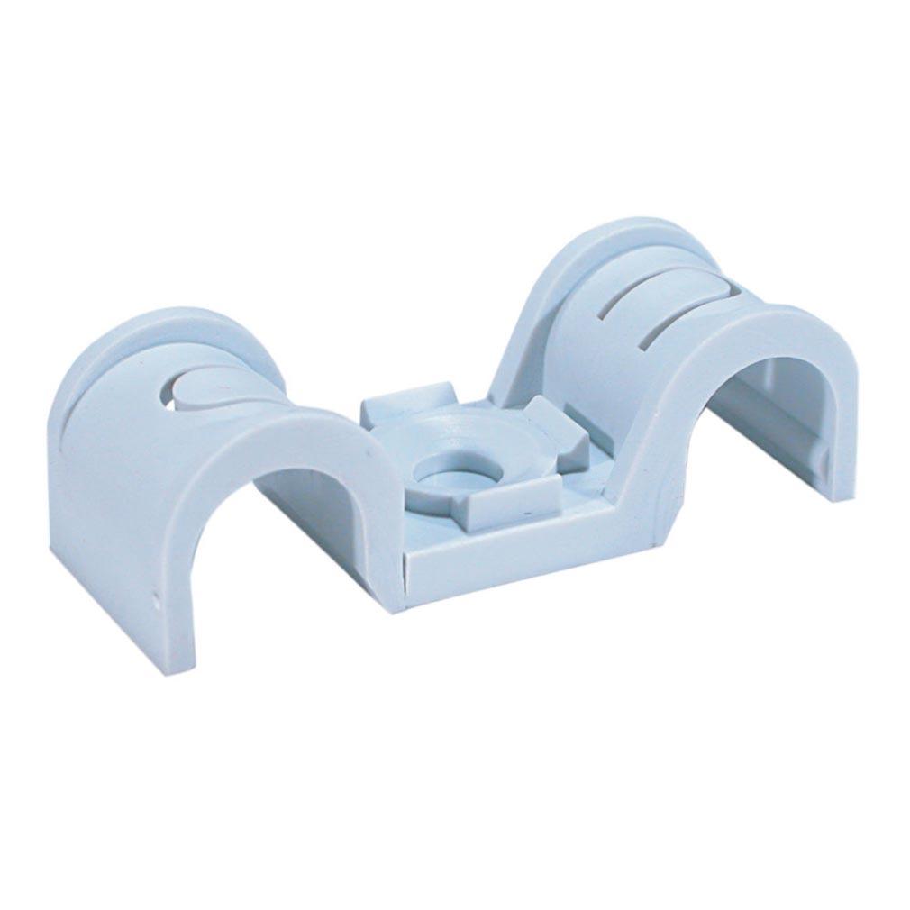 Spit - SPT565086 - Embase plastique pour fixation de gaines SPIT - CROCHET PLASTIQUE P-CLIP D.20X20