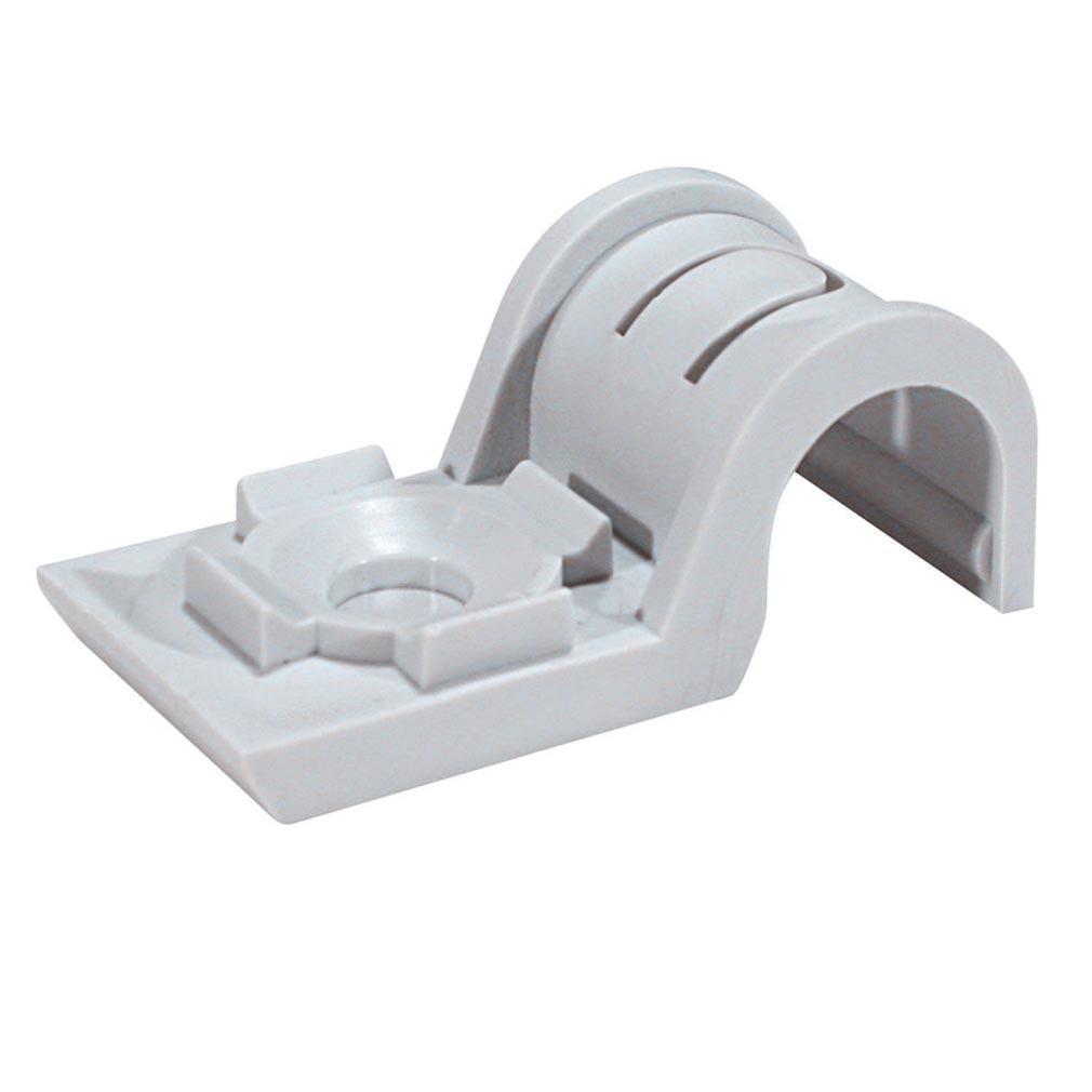 Spit - SPT567206 - Embase plastique pour fixation de gaines SPIT - CROCHET PLAST. P-CLIP D.16