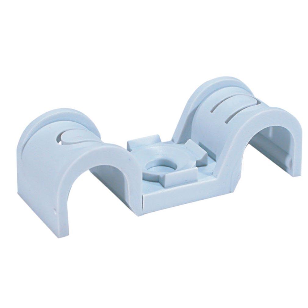 Spit - SPT567208 - Embase plastique pour fixation de gaines SPIT - CROCHET PLAST. P-CLIP D.25