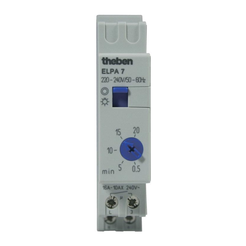 Theben - THB0070804 - MINUTERIE ELECTRON 30S A 20 MN ELPA 7