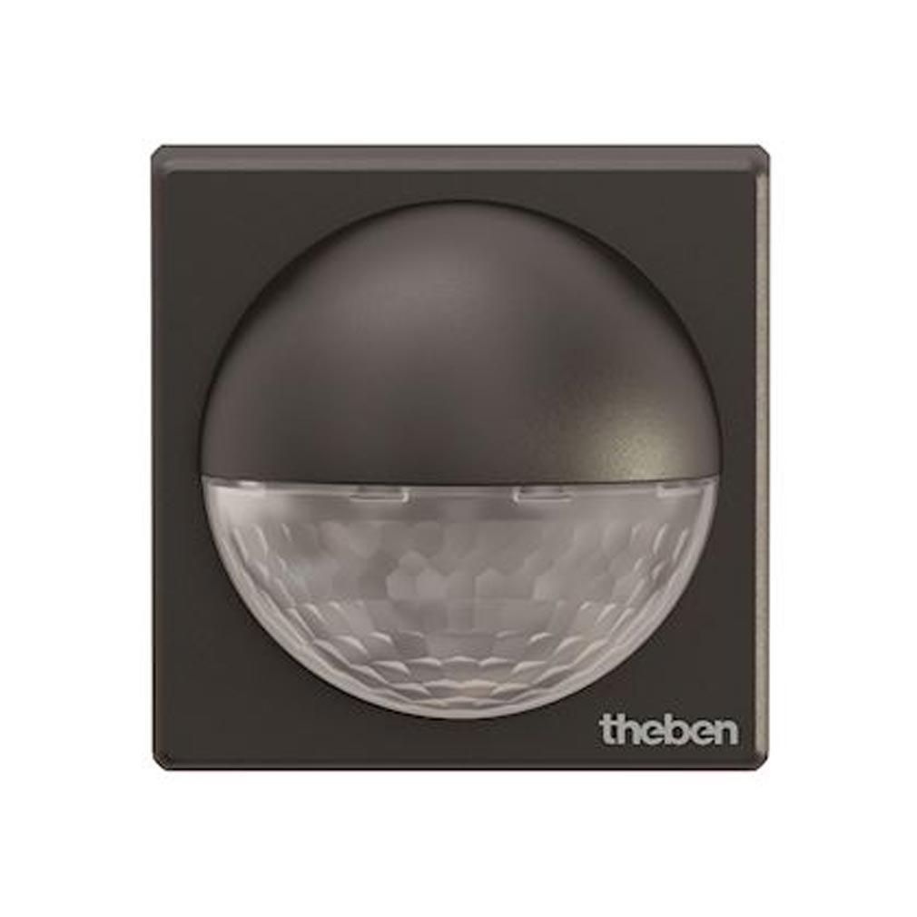 Theben - THB1010201 - THEBEN 1010201 - Détecteur mouvements theLuxa R 180 degrès noir