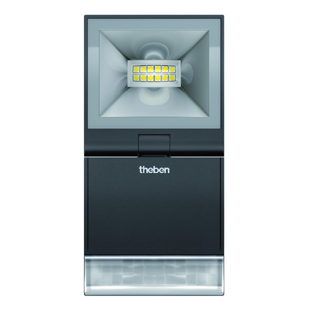 Theben - THB1020982 - PROJECTEUR LED AVEC DETECTEURTHELEDA S 10W NOIR