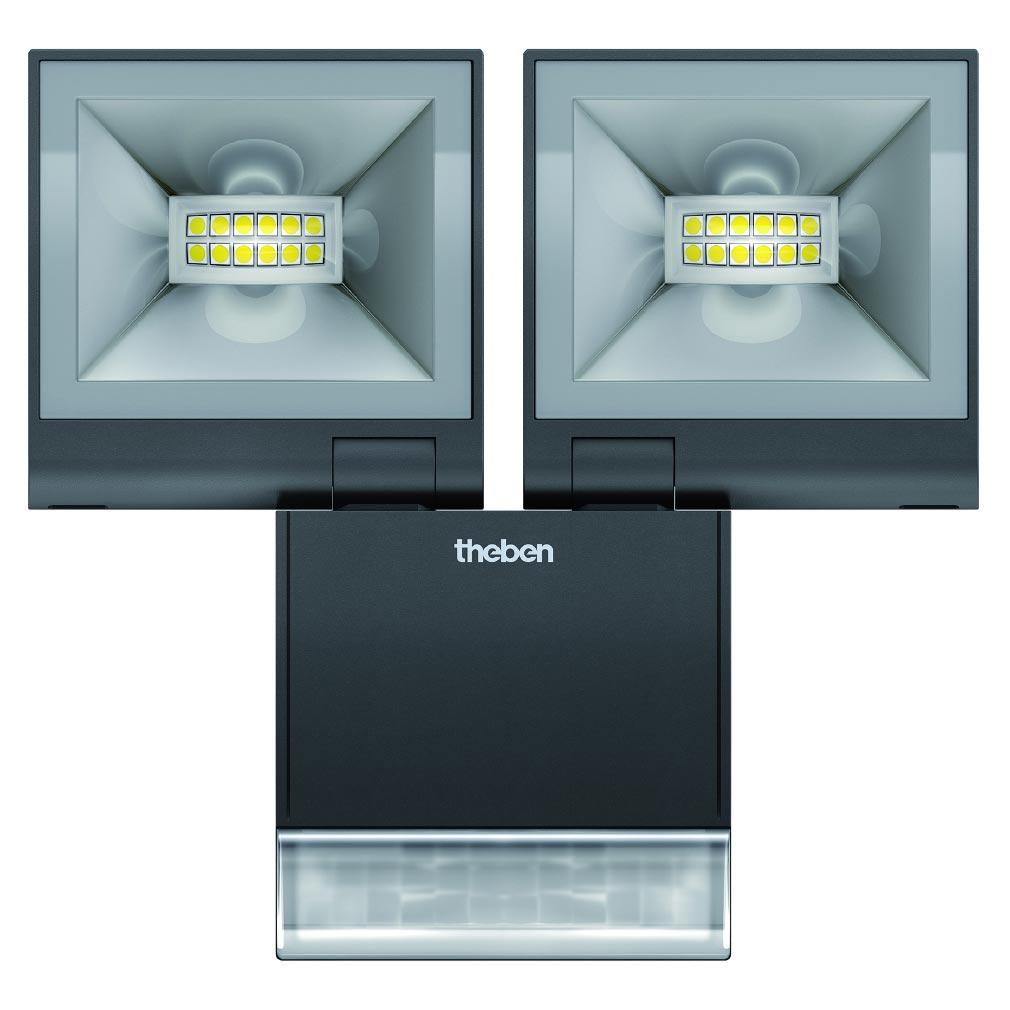 Theben - THB1020984 - PROJECTEUR LED AVEC DETECTEURTHELEDA S 20W NOIR