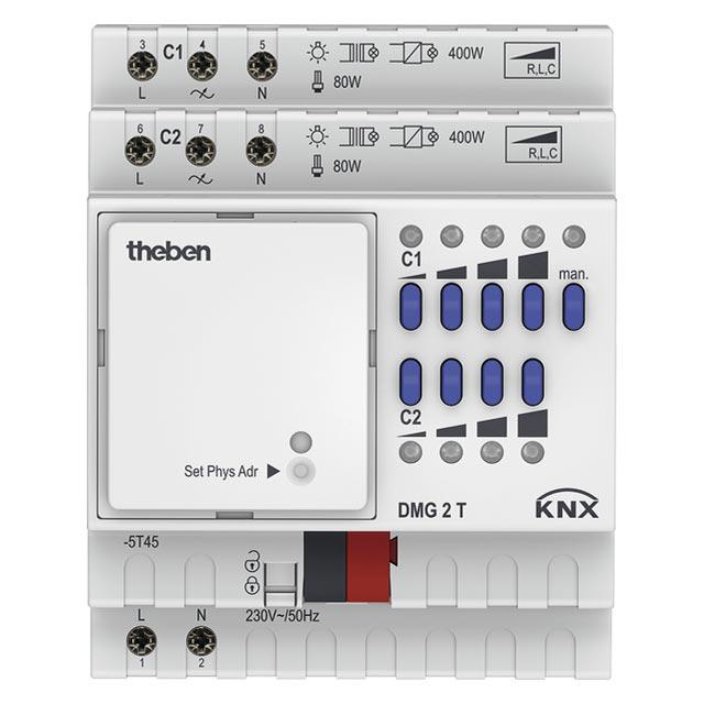 Theben - THB4930270 - MODULE VARIATEUR 2C DMG 2 T KNX