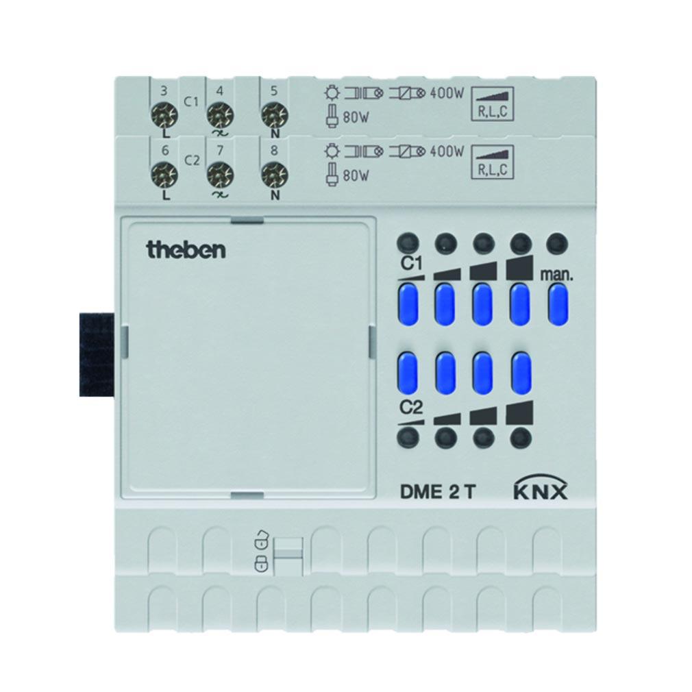 Theben - THB4930275 - MODULE VARIATEUR 2C DME 2 T KNX