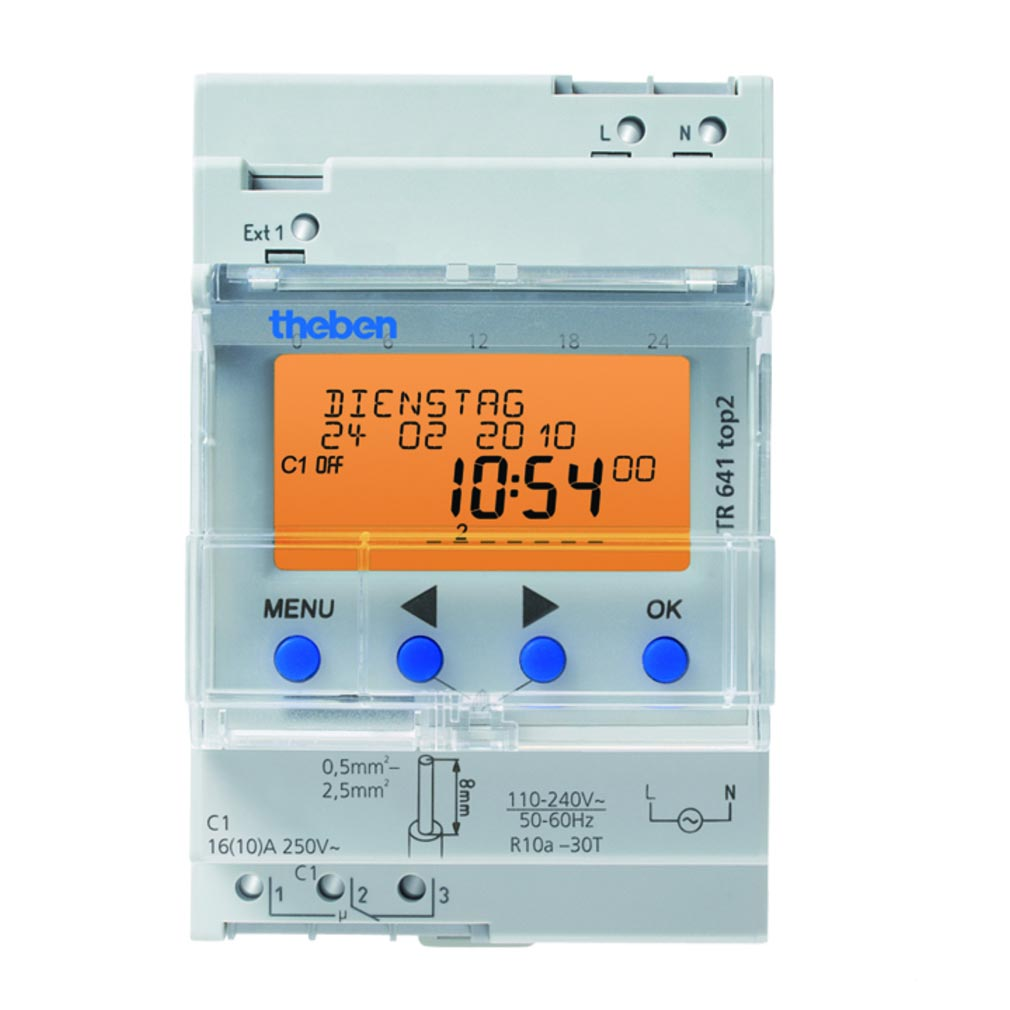 vente matériel électrique Theben  classe 4