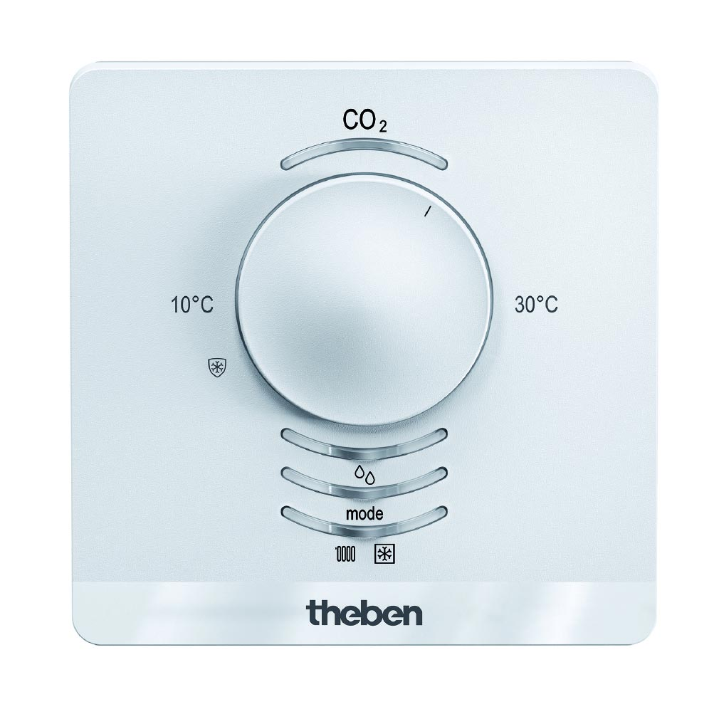 Theben - THB7169230 - CAPTEUR AMUN 716 S KNX. CO2+TEMPERATURE +HUMIDITE + PRESSION