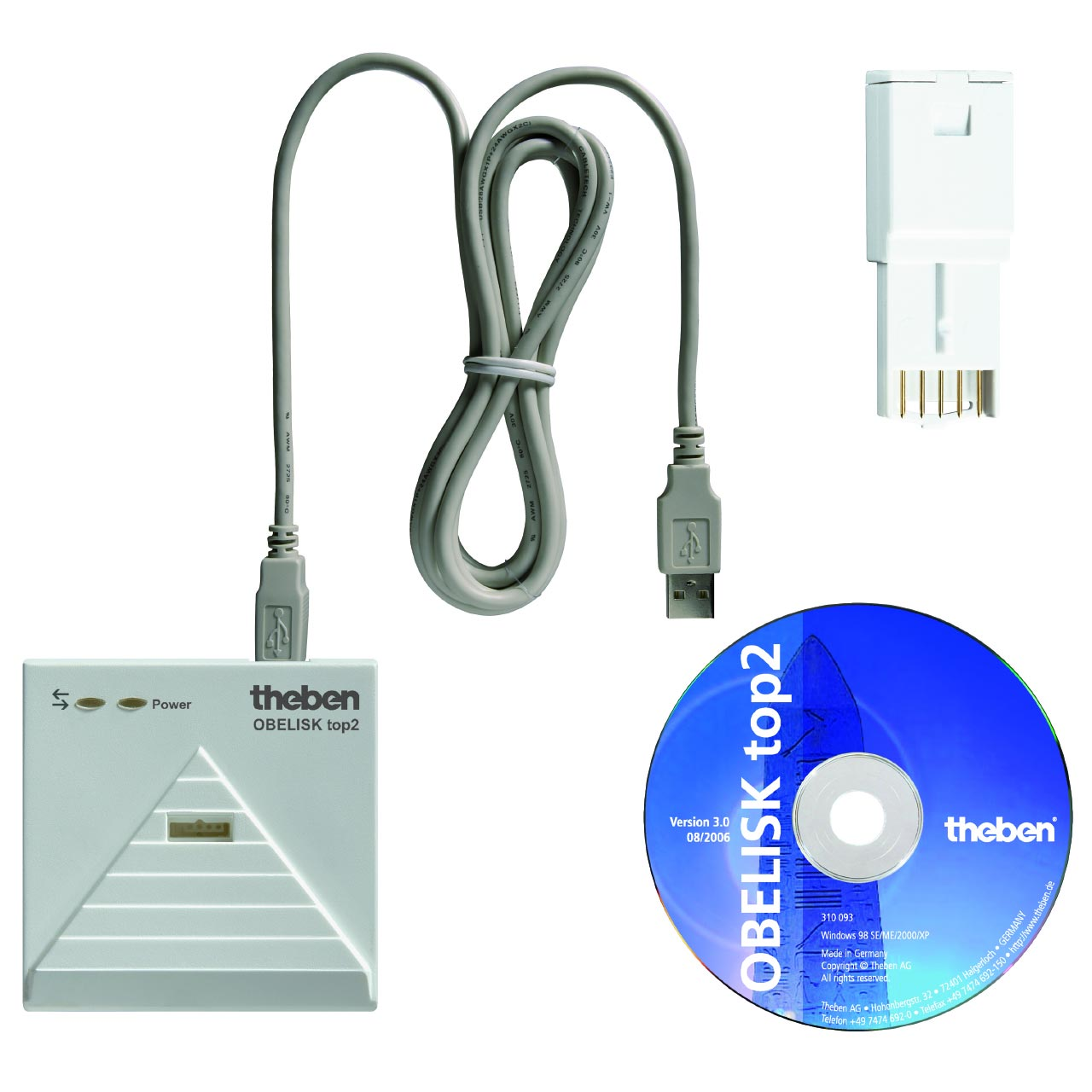 Theben - THB9070409 - KIT DE PROGRAMMATION TOP 2