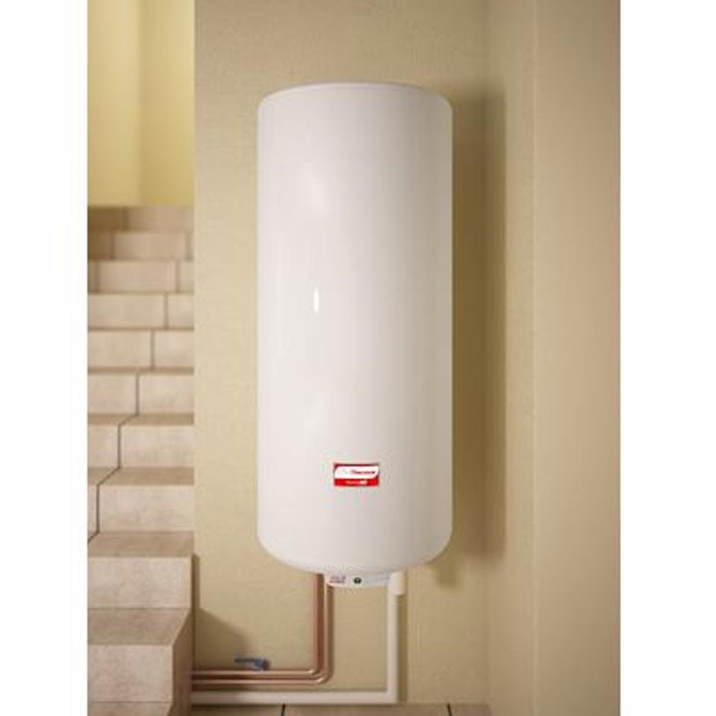 Thermor - EET271083 - THERMOR 271083 - Chauffe-eau électrique Thermor Duralis étroit Aci Hybride Mural 150 Litres