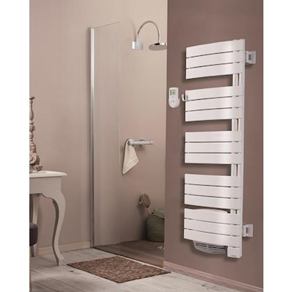 Thermor - EET490761 - THERMOR 490761 - Sèche serviettes Thermor Allure Digital Etroit 750 + 1000 W blanc