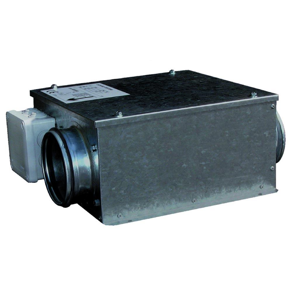 Unelvent - UNE246576 - UNELVENT 246576 - caisson extraction et insufflation extra plat 200 m3/h diam 125mm