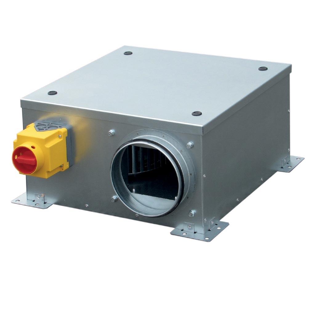 Unelvent - UNE246577 - UNELVENT 246577 - CATB002ISOLE - Caisson extraction et insufflation extra plat D125 - 200 m3/h