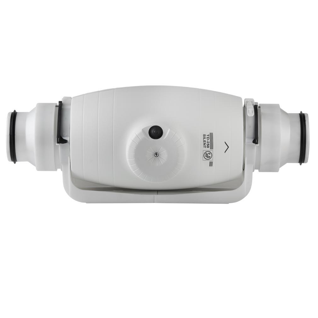 Unelvent - UNE250012 - UNELVENT 250012 - TD500/150-160SILENT - EXTRACTEUR de GAINE SILENT 580 M3 Dimètre 150