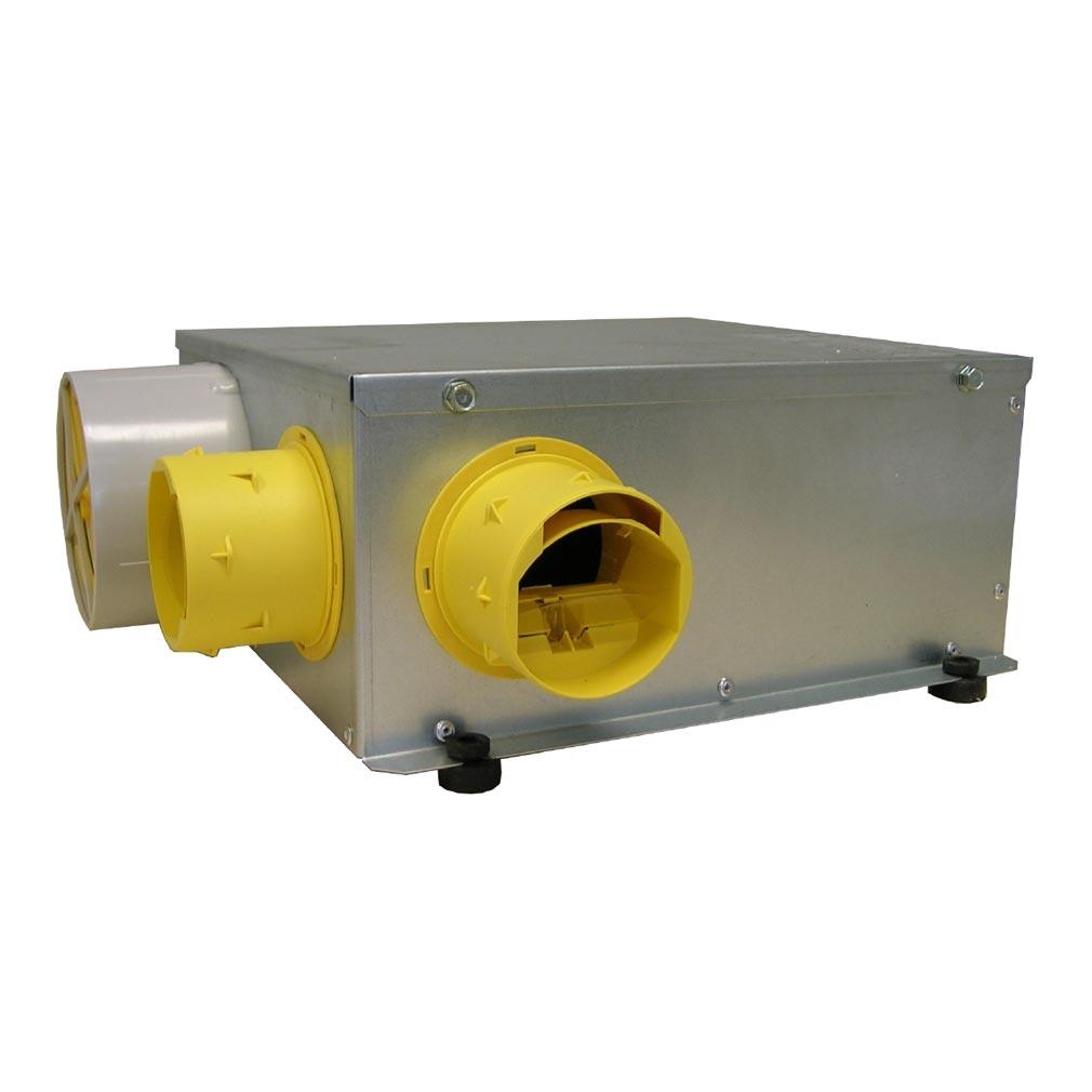 Unelvent - UNE603571 - UNELVENT 603571 - MICROGEMSTN - Caisson VMC MICROGEM ST autoréglable Ultra-plat
