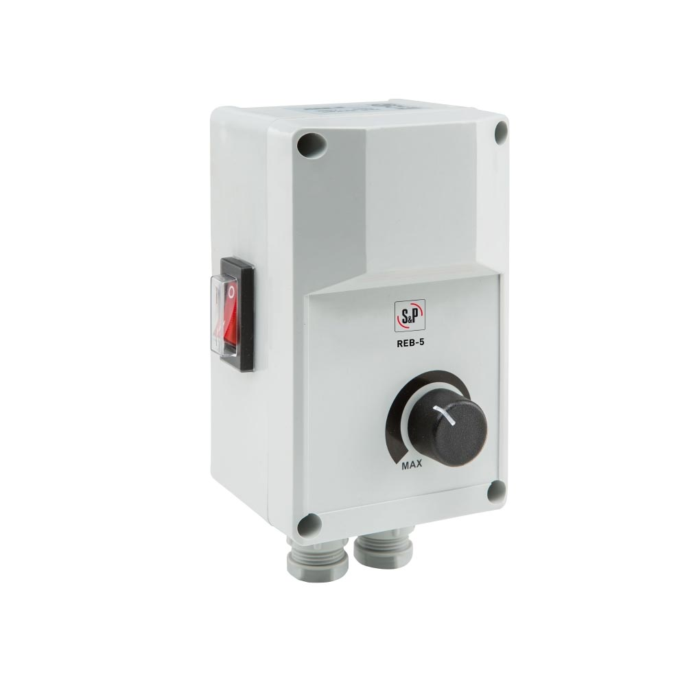 Unelvent - UNE700191 - UNELVENT 700191 - REB-5 - Variateur electronique de tension 5A