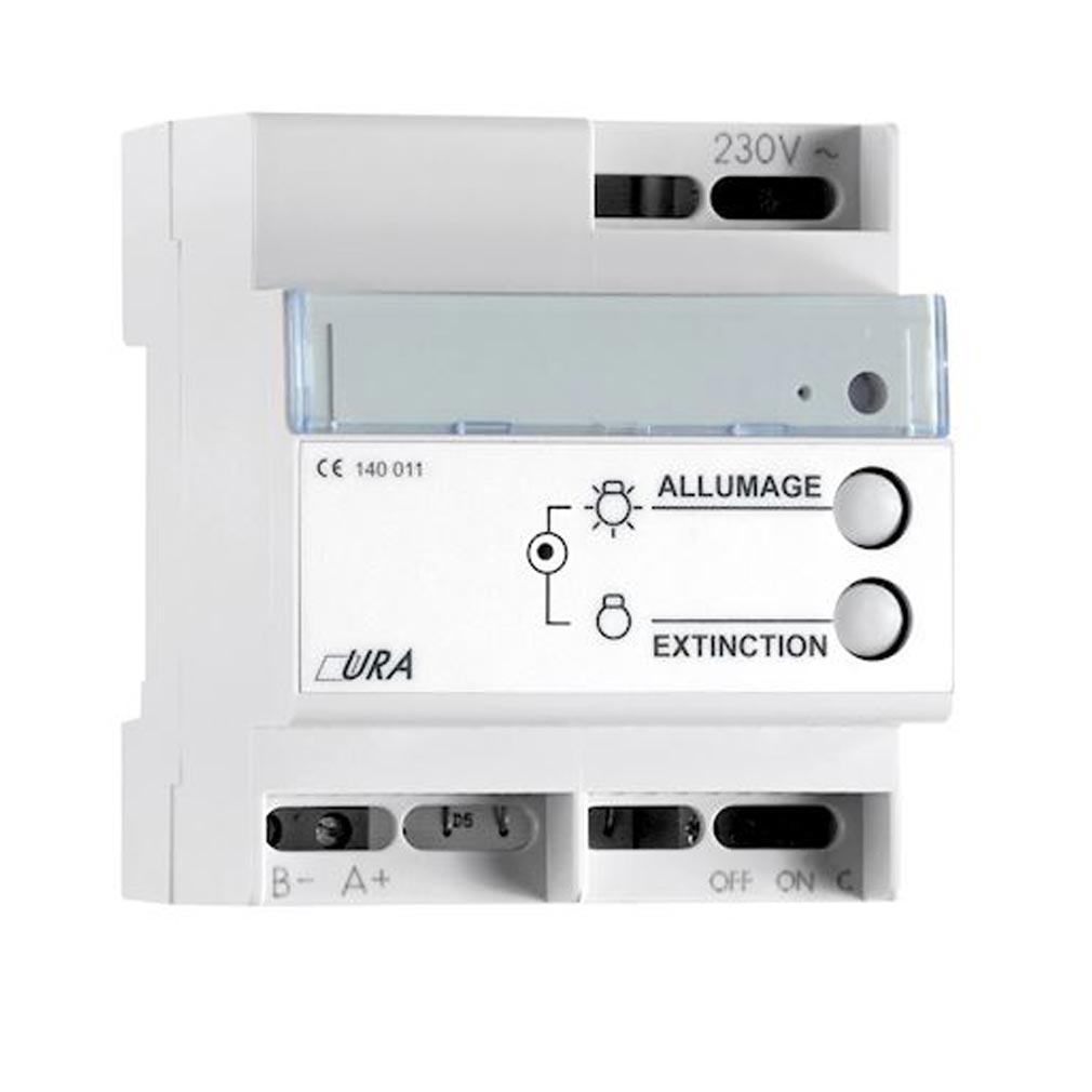 Ura - URA140011 - URA 140011 - Télécommande de mise à l'état de repos BTM pour SATI - capacité 600 blocs, tension de sortie TBTS 9Vdc