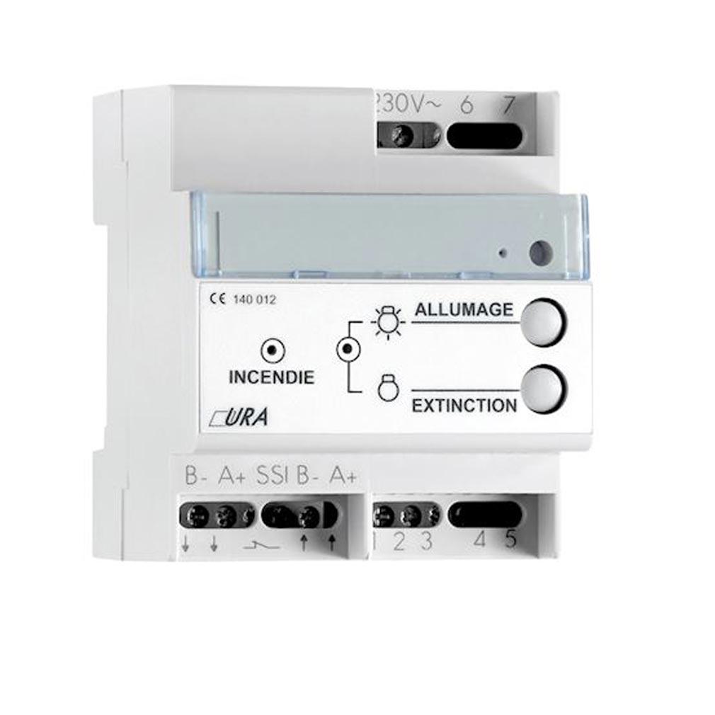 Ura - URA140012 - URA 140012 - Télécommande BTM Multi-fonctions - 300 blocs - 15 mA