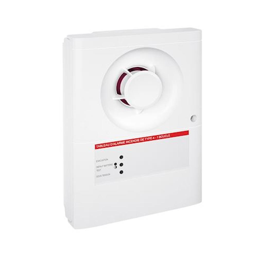 Ura - URA346003 - URA 346003 - Tableau d'alarme incendie - Type 4 - Alimentation Secteur - IP20