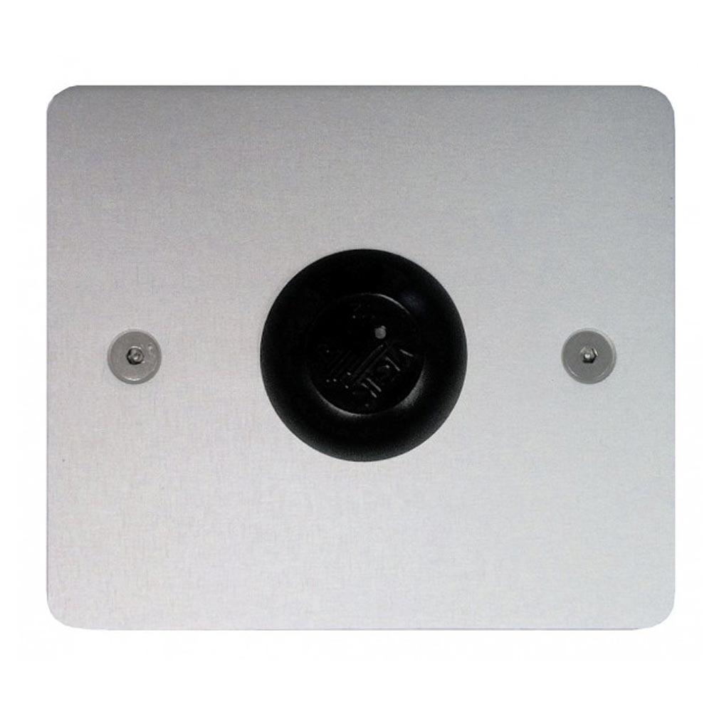 Urmet - URM10050A - BOÎTIER INOX PERCE POUR CONTACT PTT OU TÊTE VIGIK 110X130 P-CC