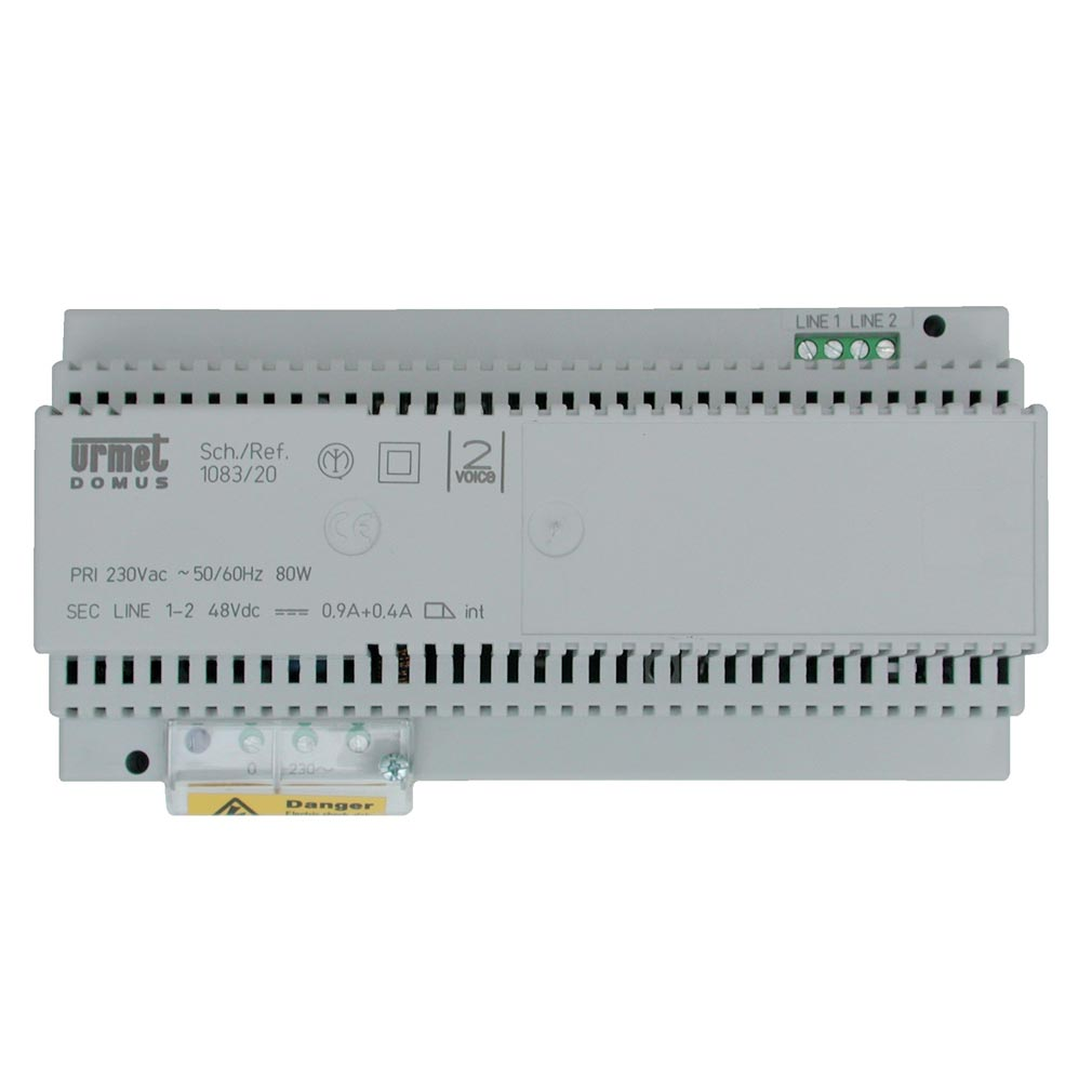 Urmet - URM108320 - URMET 108320 - Alimentation système