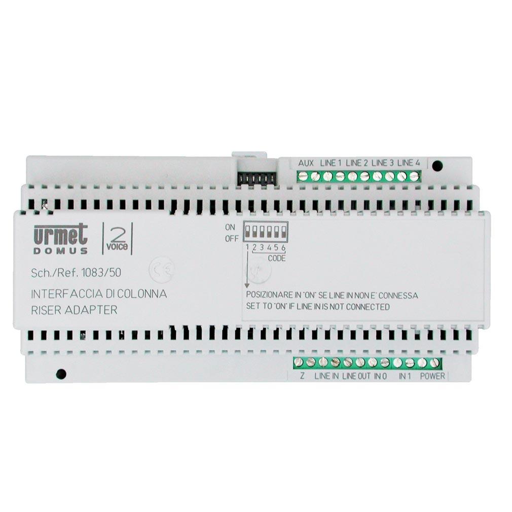 Urmet - URM108350 - URMET 108350 -  Interface colonne